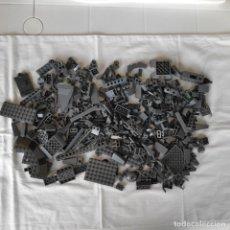 Juegos construcción - Lego: LEGO LOTE PIEZAS GRIS OSCURO N2. 380 GR. Lote 174404864