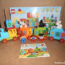 Juegos construcción - Lego: LEGO DUPLO - TREN DE LOS NÚMEROS 10847. Lote 174411150