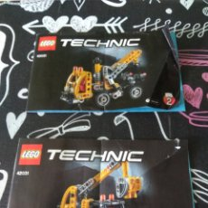 Juegos construcción - Lego: 2 INSTRUCCIONES LEGO TECHNIC. REFERENCIA 42031. BRICK SET. Lote 174520249