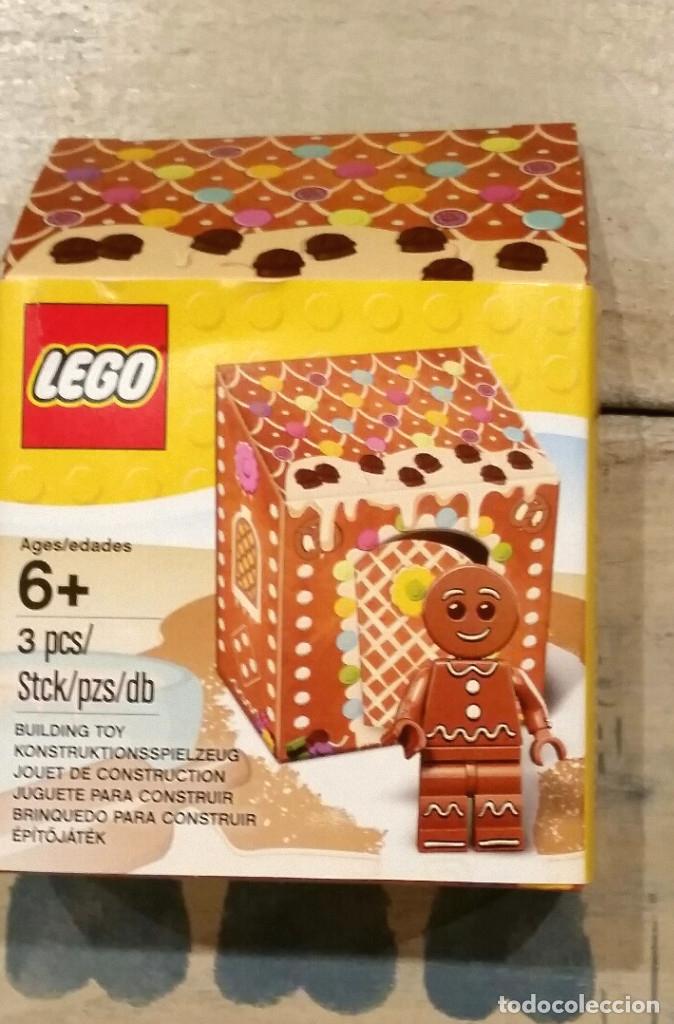 LEGO GALLETA DE NAVIDAD NUEVA (Juguetes - Construcción - Lego)