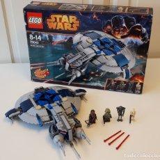 Juegos construcción - Lego: LEGO® STAR WARS 75042, DROID GUNSHIP, 100% / CAJA.. Lote 174974260