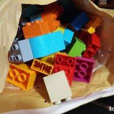 Juegos construcción - Lego: 1,5 KILO LEGO PAQUE CORREOS VERDE COMPLETO VER FOTOS. Lote 175286285