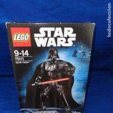 Juegos construcción - Lego: STAR WARS - LEGO DARTH VADER REF 75111 CAJA APENAS ABIERTA ESTA PARA ESTRENAR! SM. Lote 176499607