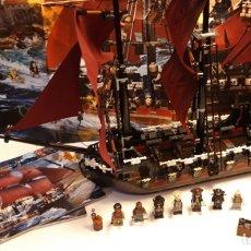 Juegos construcción - Lego: LEGO® PIRATAS DEL CARIBE 4195, VENGANZA REINA ANA.. Lote 144631254