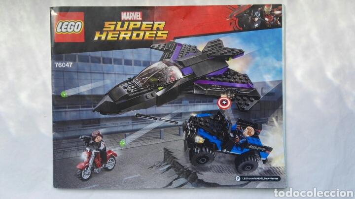 MARVEL SUPER HEROES LEGO 76047 MANUAL INSTRUCCIONES (Juguetes - Construcción - Lego)