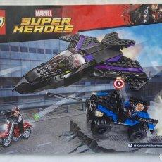 Juegos construcción - Lego: MARVEL SUPER HEROES LEGO 76047 MANUAL INSTRUCCIONES. Lote 176789484
