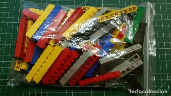 80 LADRILLOS LEGO 1X8 (Juguetes - Construcción - Lego)