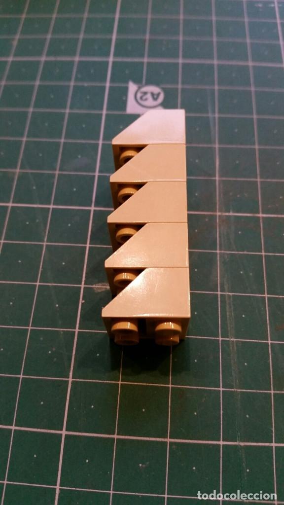 Juegos construcción - Lego: LEGO 44 PIEZAS PARA TEJADOS U OTROS - Foto 3 - 178066195