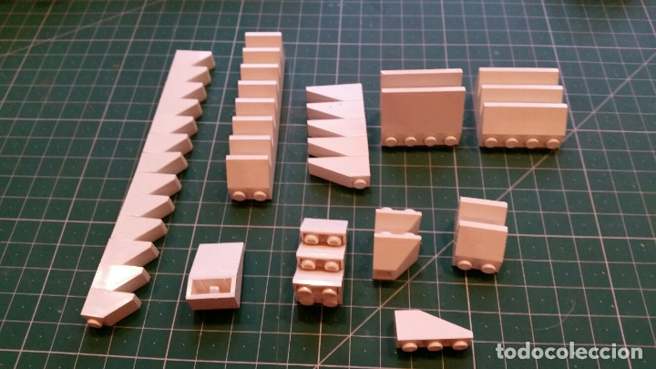 Juegos construcción - Lego: LEGO 80 PIEZAS PARA TEJADOS U OTROS - Foto 3 - 178069707