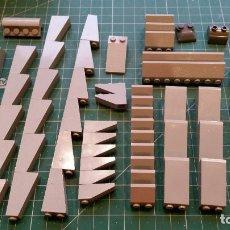 Juegos construcción - Lego: LEGO 92 PIEZAS PARA TEJADOS U OTROS. Lote 178069939