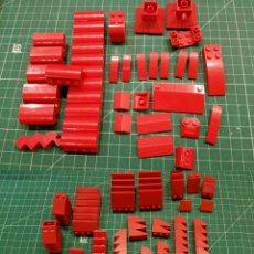 Juegos construcción - Lego: LEGO 170 PIEZAS PARA TEJADOS U OTROS. Lote 178070770