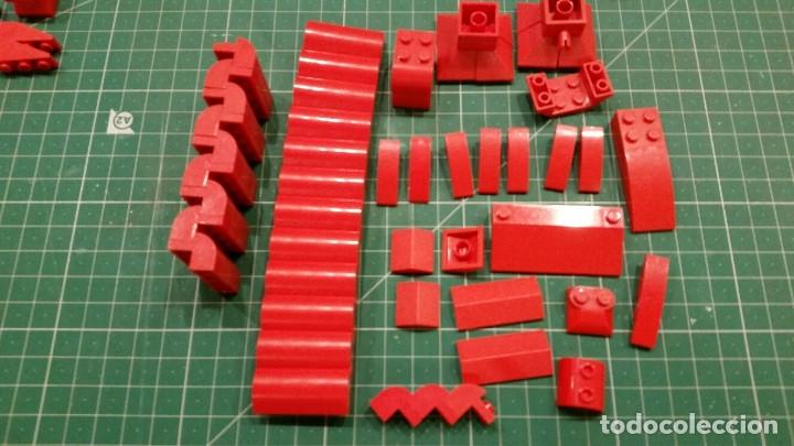 Juegos construcción - Lego: LEGO 170 PIEZAS PARA TEJADOS U OTROS - Foto 3 - 178070770