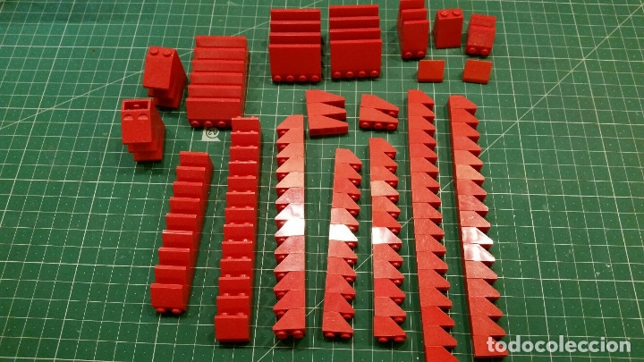 Juegos construcción - Lego: LEGO 170 PIEZAS PARA TEJADOS U OTROS - Foto 4 - 178070770