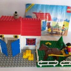 Juegos construcción - Lego: LEGO, LEGOLAND 6355 DERBY TROTTER. TOWN SYSTEM. AÑO 1989. GRANJA. Lote 178285593
