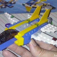 Juegos construcción - Lego: LEGO CREATOR 2016 REF 31042 AVIÓN JET COMBATE ~ ALAS EN T CON MOTOR DESPLEGADO ~ SET MULTIBUILD.. Lote 178846005