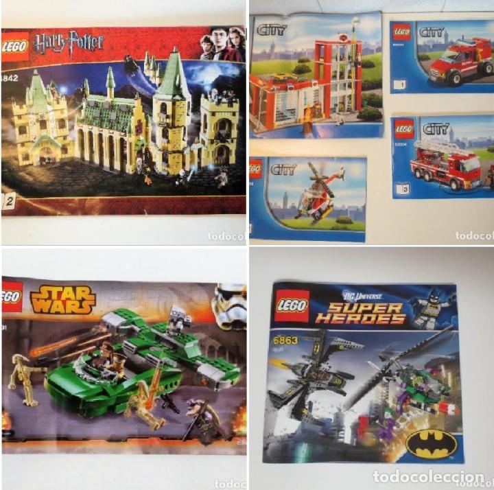 MANUALES LEGO - CITY 60004 -HARRY POTTER 4842 - MANUAL Nº2 -75091 STAR WARS - 6863 SUPER HEROES . (Juguetes - Construcción - Lego)