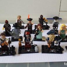Juegos construcción - Lego: PIRATAS DEL CARIBE 16 MINI FIGURAS LEGO COMPATIBLE . Lote 179244845