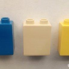 Juegos construcción - Lego: LEGO DUPLO - BLOQUES DE CONSTRUCCIÓN COLORES SURTIDOS 2 CONECTORES. Lote 179314590