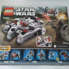Juegos construcción - Lego: LEGO MICROFIGHTERS GUERRA DE LAS GALAXIAS. HALCON MILENARIO. REFERENCIA 75193. STAR WARS. Lote 180104126