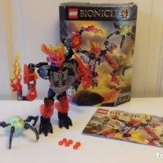 Juegos construcción - Lego: LEGO® BIONICLE 70783, PROTECTOR OF FIRE.. Lote 151593626