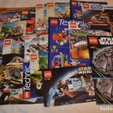 Juegos construcción - Lego: LEGO - LOTAZO MANUALES INSTRUCCIONES - STAR WARS, TECHNIC, HARRY POTTER, ETC ¡MIRA FOTOS Y DETALLES!. Lote 180192192
