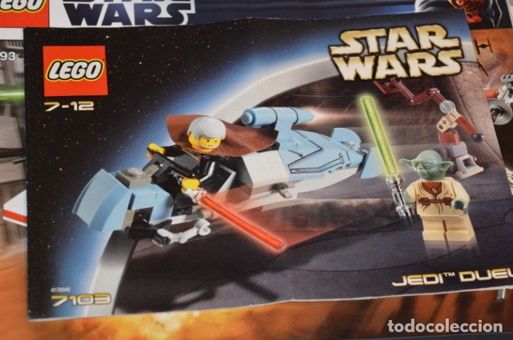Juegos construcción - Lego: LEGO - Lotazo manuales instrucciones - Star Wars, Technic, Harry Potter, etc ¡Mira fotos y detalles! - Foto 4 - 180192192