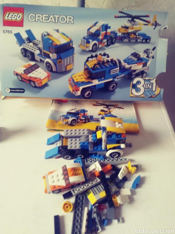 LOTE LEGO CAMION (Juguetes - Construcción - Lego)