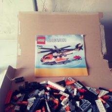 Juegos construcción - Lego: LOTE LEGO HELICÒPTERO. Lote 180258058