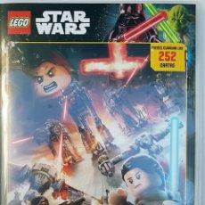 Juegos construcción - Lego: ÁLBUM LEGO STAR WARS 1ª SERIE 100% COMPLETO NUEVO. Lote 180297635