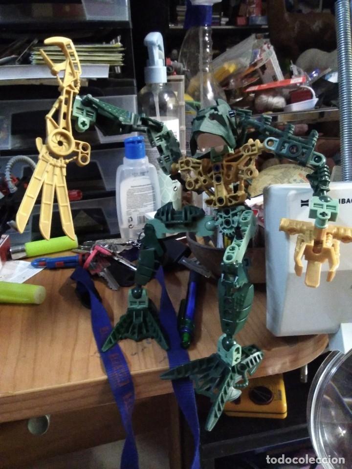 Juegos construcción - Lego: Lote de 4 lego bionicle de 17 a 27 ctms - Foto 2 - 180313865