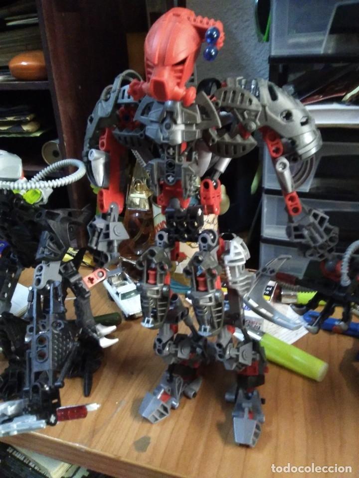 Juegos construcción - Lego: Lote de 4 lego bionicle de 17 a 27 ctms - Foto 3 - 180313865