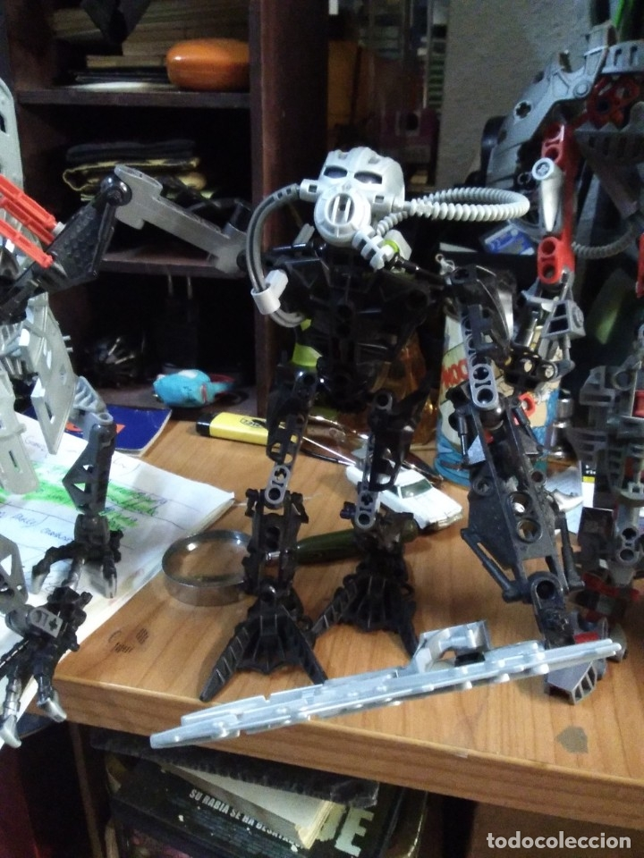 Juegos construcción - Lego: Lote de 4 lego bionicle de 17 a 27 ctms - Foto 4 - 180313865