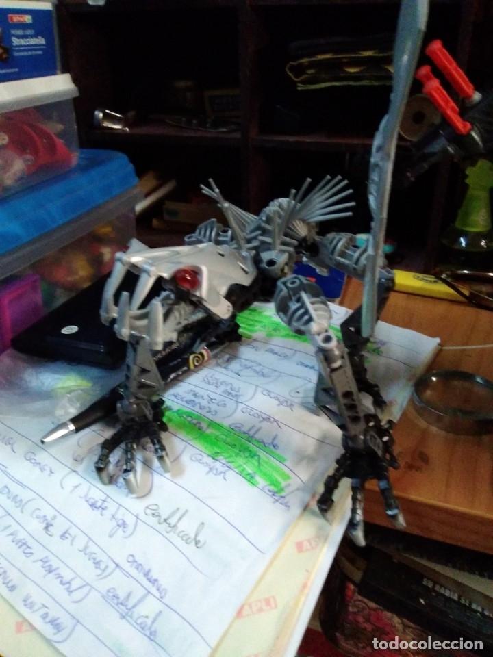 Juegos construcción - Lego: Lote de 4 lego bionicle de 17 a 27 ctms - Foto 5 - 180313865