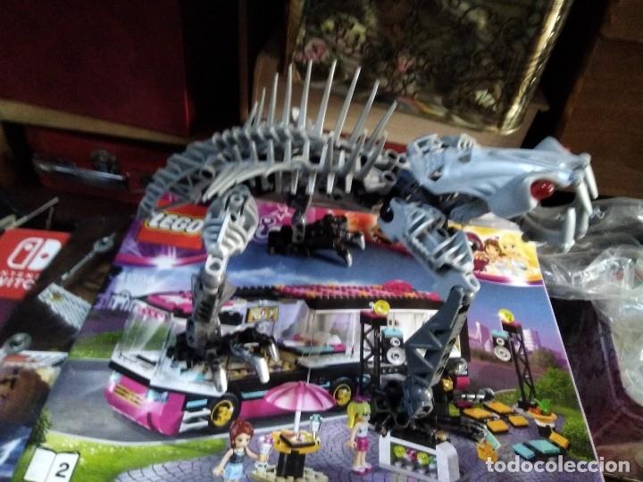 Juegos construcción - Lego: Lote de 4 lego bionicle de 17 a 27 ctms - Foto 6 - 180313865