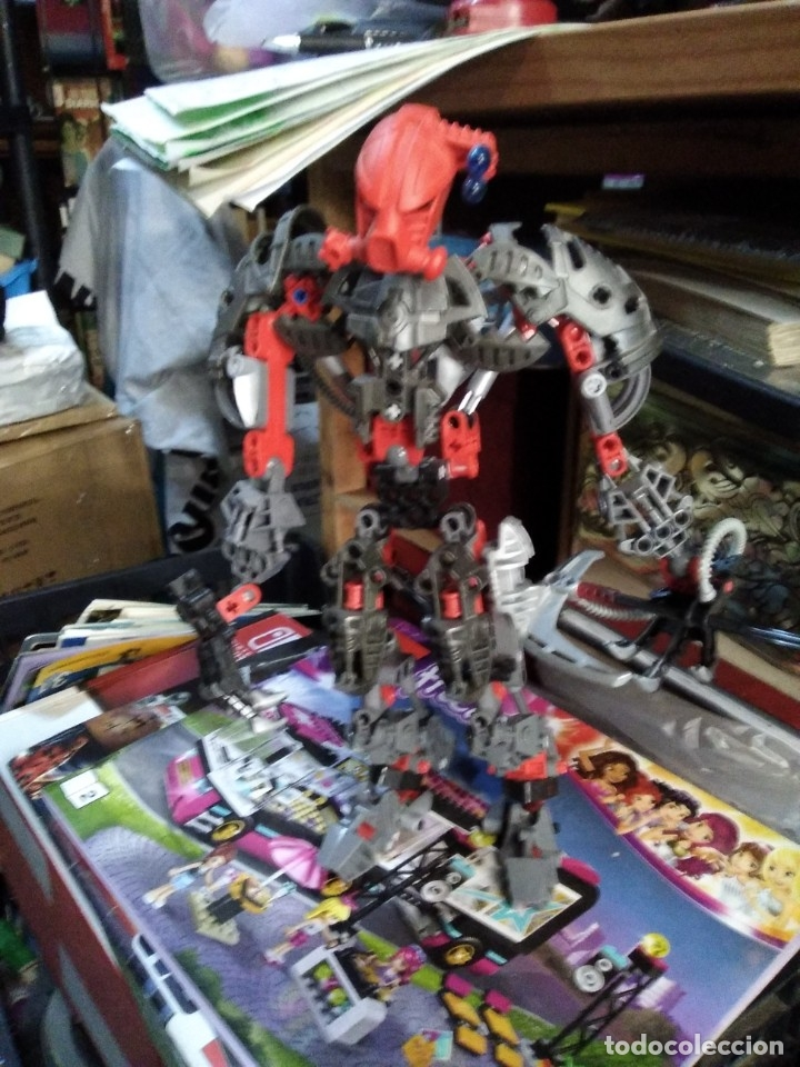 Juegos construcción - Lego: Lote de 4 lego bionicle de 17 a 27 ctms - Foto 8 - 180313865