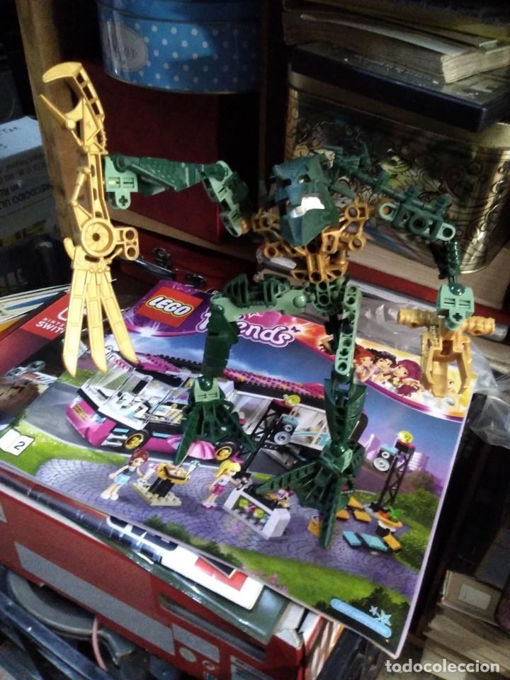 Juegos construcción - Lego: Lote de 4 lego bionicle de 17 a 27 ctms - Foto 9 - 180313865