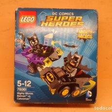 Juegos construcción - Lego: LEGO REF. 76061 MIGHTY MICROS BATMAN VS CATWOMAN (DC COMICS) . Lote 180314183