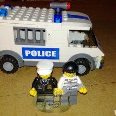 Juegos construcción - Lego: FURGÓN DE POLICÍA DE LEGO CITY 7245. Lote 182223767