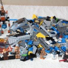 Juegos construcción - Lego: LEGO STAR WARS: 75089 - 7256 - 08093 - CON FIGURAS. Lote 182419068
