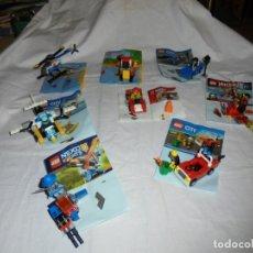 Juegos construcción - Lego: 8 SOBRES LEGO .-REF.30373/REF.30471/REF.30346/REF.30473/REF30472/REF.30347/REF.30422/REF.30349.LEER. Lote 182615297