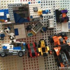 Juegos construcción - Lego: POLICIA Y VEHICULOS LOTE PIEZAS LEGO CONSTRUCCION FOTO KREATEN. Lote 182721356