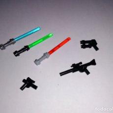 Juegos construcción - Lego: LOTE NUEVO - ARMAS DE STAR WARS PARA MINIFIGURAS LEGO Y BRICKS CUSTOM COMPATIBLES. Lote 183030448