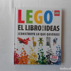 Juegos construcción - Lego: LEGO EL LIBRO DE LAS IDEAS - CONSTRUYE LO QUE QUIERAS - NUEVO - PRECINTADO. Lote 183091311