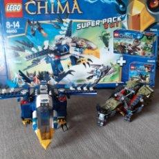 Juegos construcción - Lego: LEGO LEGENDS OF CHIMA LEGO 66450. Lote 183396988