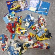 Juegos construcción - Lego: GRAN LOTE 3 KILOS PIEZAS LEGO VARIADAS HAY DE TODO POLICIA BARCO CASA CONSTRUCCIÓN GRÚA ETC. Lote 184782398