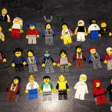 Juegos construcción - Lego: LOTE 25 MUÑECO FIGURA LEGO DIFERENTES ESTADOS VER FOTOS ALGUNOS INCOMPLETOS. Lote 184783342