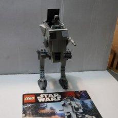 Juegos construcción - Lego: LEGO 7657 AT-ST STAR WARS AÑO 2007 CON SOLDADO Y MANUAL. Lote 185741841
