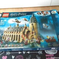 Juegos construcción - Lego: CAJA VACIA LEGO HARRY POTTER HOGWARTS GREAT HALL CON REFERENCIA 75954. Lote 185895875