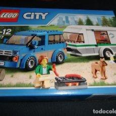 Juegos construcción - Lego: LEGO CITY INCLUYE CAJA E INSTRUCCIONES - SOLO LOS VEHICULOS MONTADOS NO INCLUYE FIGURAS-VER FOTOS. Lote 186075391