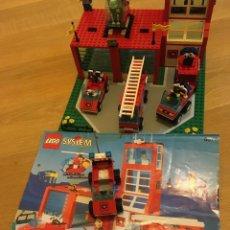 Juegos construcción - Lego: LEGO SYSTEM BASE DE BOMBEROS. Lote 187195587